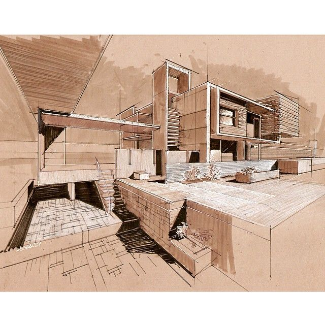 The Best Images About Architectural Sketches On Pinterest