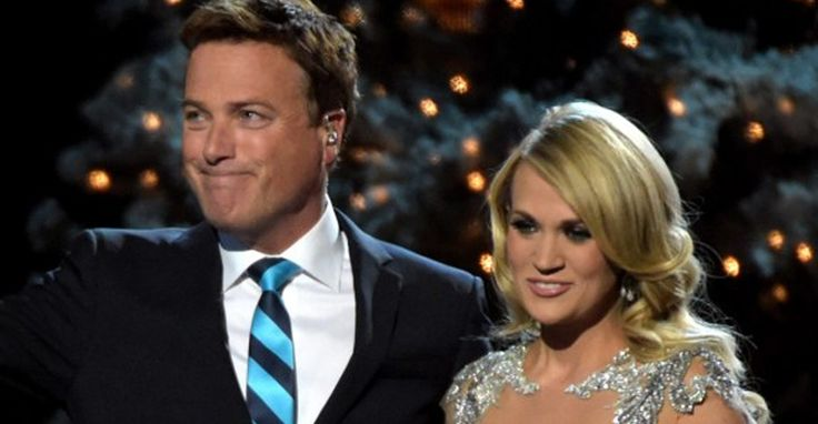 """Carrie Underwood with Michael W. Smith singing the Christmas song """"All Is Well"""""""