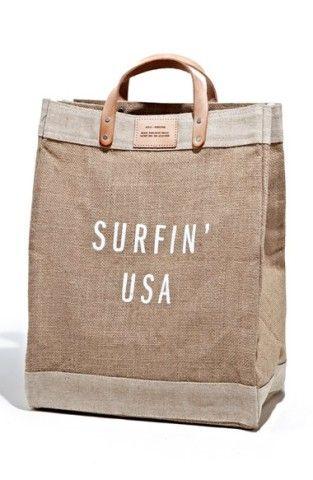 Apolis 'Surfin USA' Market Bag