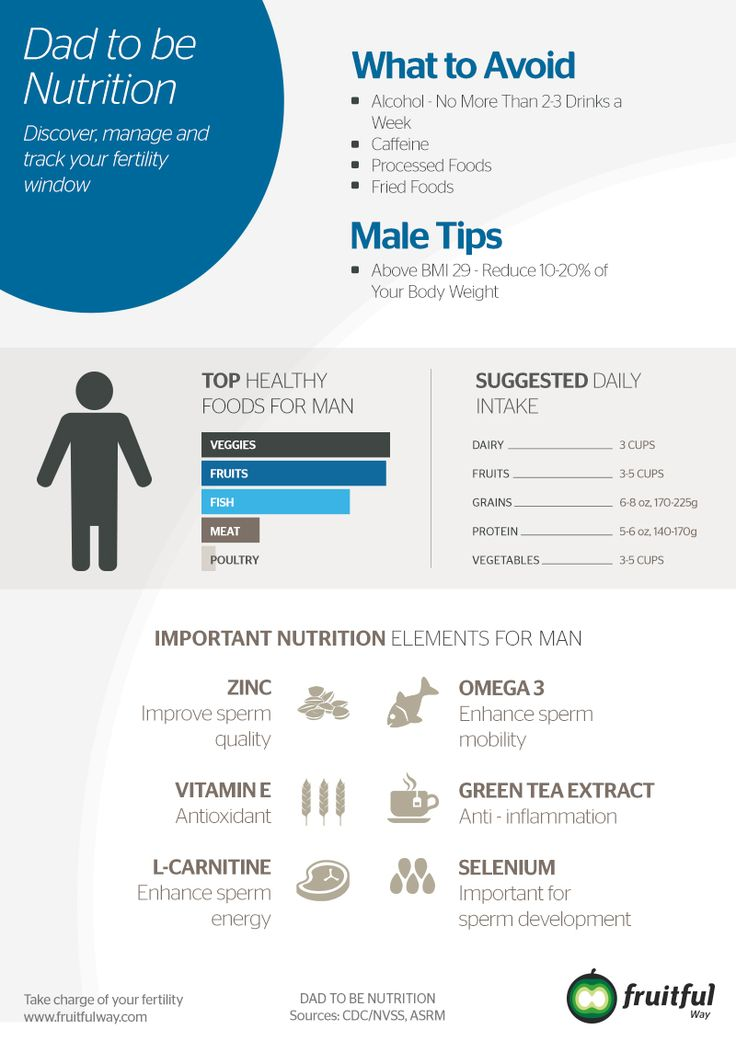 Increase Man Fertility - Male tips: exercise and eat a healthy, it is important when try to conceive.