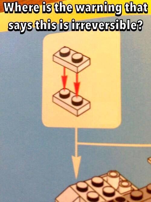 LEGO problems...