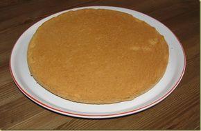 (dosi per due dischi di pan di spagna)  Ingredienti:  150 gr di farina 100 gr di fecola 5 uova 200 gr di zucchero 1/2 bustina di lievito la scorza grattugiata di 1 limone un pizzico di sale