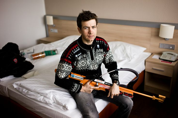 Ole Einar Bjørndalen, Biathlon Legend. The Norwegian has won 13 Olympic Medals (8 Gold, 4 Silver, 1 Bronze) across 6 Games (1994-2014) making him the most decorated Winter Olympian of all time.