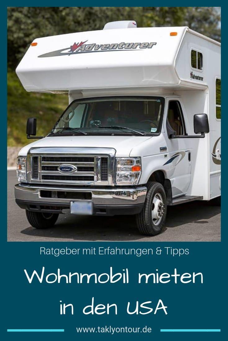Wohnmobil mieten in den USA: Tipps & Erfahrungen  Wohnmobil