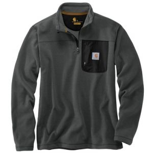 Find the Carhartt Men's Sweater Fleece - Carbon Heather by Carhartt at Mills Fleet Farm.  Mills has low prices and great selection on all Shirts.