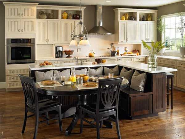 Kitchen Island Designs With Seating best 25+ kitchen island seating ideas on pinterest | white kitchen