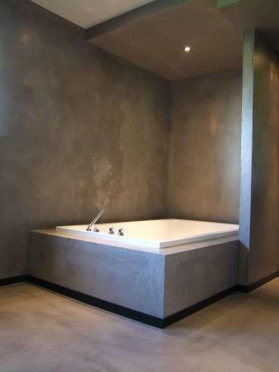 Pi di 25 fantastiche idee su intonaco su pinterest stampi in gesso - Integrale badkamer ...