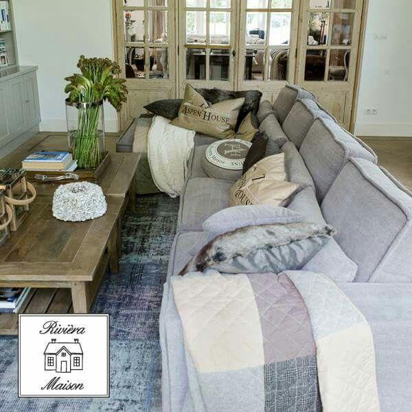 25 beste idee n over grijze bank kamers op pinterest grijs lounge en bank kussens - Ideeen deco blijven ...