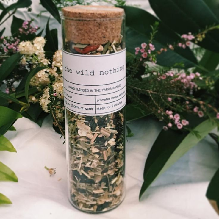Let's Dance test tube tisane chilling with its nature buddies!  #allnaturalingredients #naturelover #tealover #tealoversunite #tisanes #herbaltea #apickmeup #thewildnothing #madeinmelbourne #australianmade #madeintheyarraranges #naturalproducts #gifts #onlinegifts #healthylife #healthy #healthytea #mentalpower #mermaidsorority #septembermarket