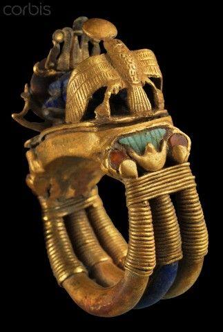 EGYPT - Ring from tomb of Tutankhamun
