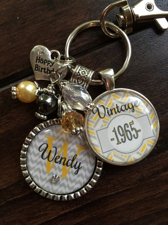 Birthday gift for her personalized vintage necklace or for Engravable gifts for her