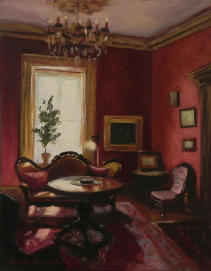 Victorian Drawing Room: 373 Best Images About Z Art: Jonelle Summerfield On Pinterest