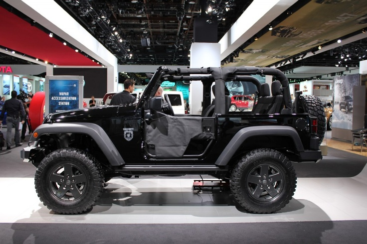2012 Jeep Wrangler Black Edition
