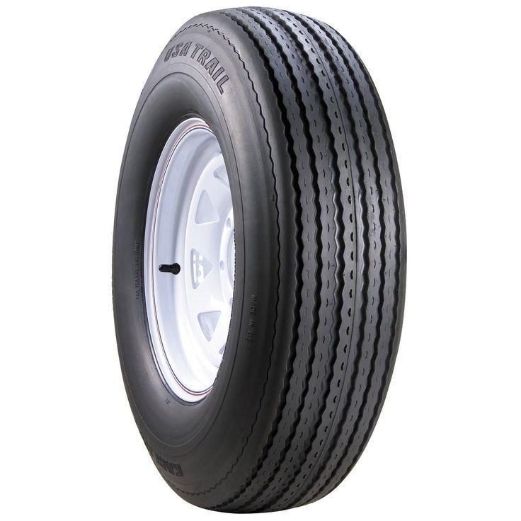 Carlisle USA Trail Bias Trailer Tire - 18.5/8.5-8 LRC/6 ply