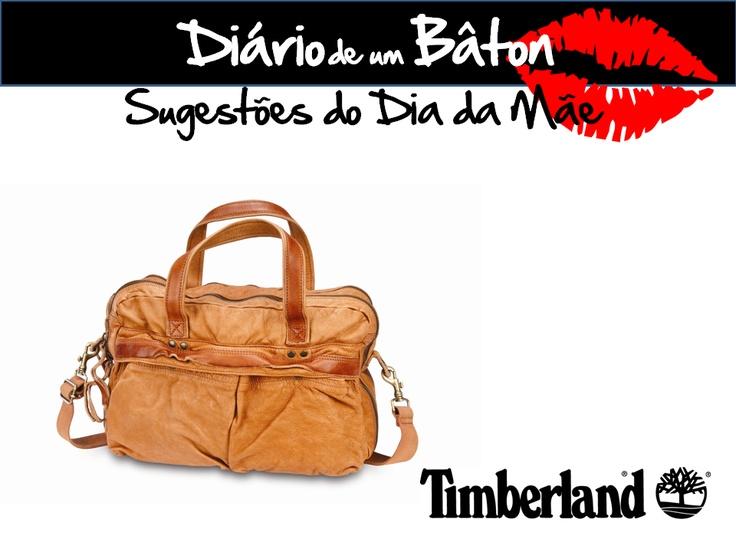 Uma mala muito cool da Tmberland para uma mãe mais cool ainda ;)