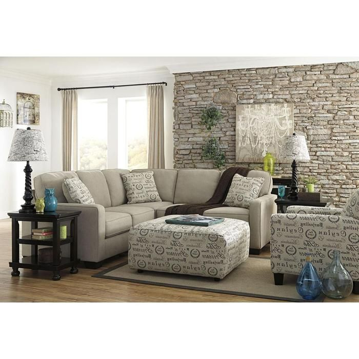 Alenya 2 Piece Sectional In Quartz
