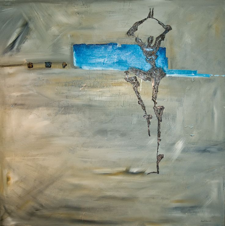 Acrylig paint on canvas by Elisabeth Takvam