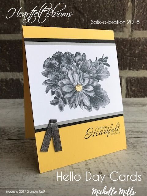 This stamp set that you can choose for FREE during Sale-a-bration 2018 is absolutely STUNNING!! When I first saw it in the brochure, I ...