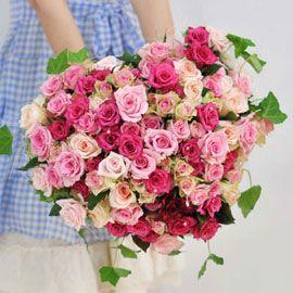 [100]The Roses Bloom - 핑크 하트