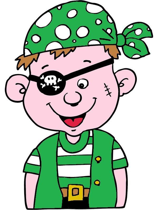 piraat groen