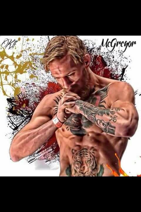 Conor McGregor.  MMA Champion.