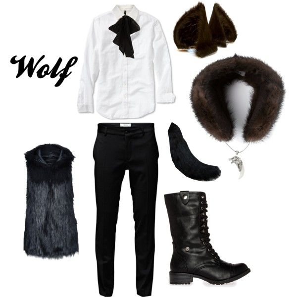 """Into the Woods - Wolf"" by masterofsporks on Polyvore"