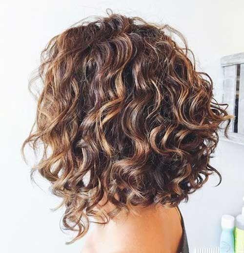 20 New Bob Haircuts for Curly Hair