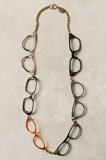 Quite A Spectacle Necklace - Anthropologie $498.00 :( -My sister woul love this!