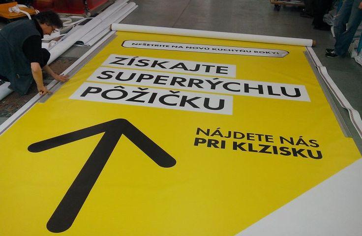 Tlačíme plachty vo veľkom #tlač #banner #plachta #baner #reklama