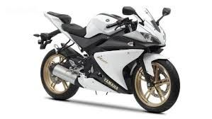 yamaha r 125 white with gold wheels - would love one of these for popping to the shops!