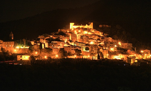Scarlino di notte #TuscanyAgriturismoGiratola