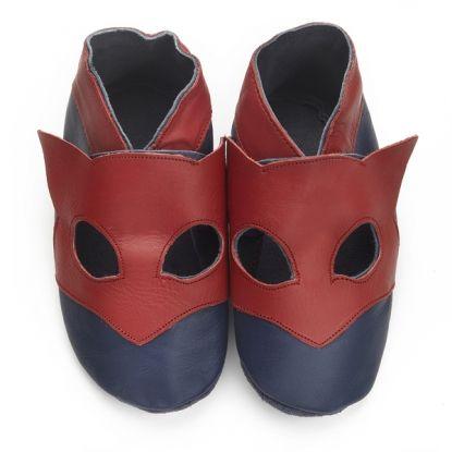 Graine de Héros- le chausson des super héros - soft leather slipper for super hero #superhero