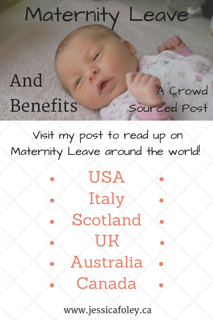 Curious how maternity (and parental) leave happens around the world? Read about it here!