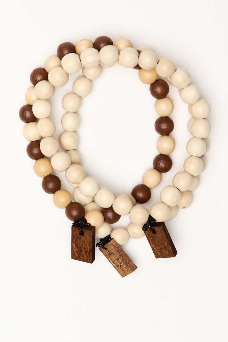 Good Wood JT Exclusive Bracelet 3-Pack Combo A Tan Tan Tan/Brown