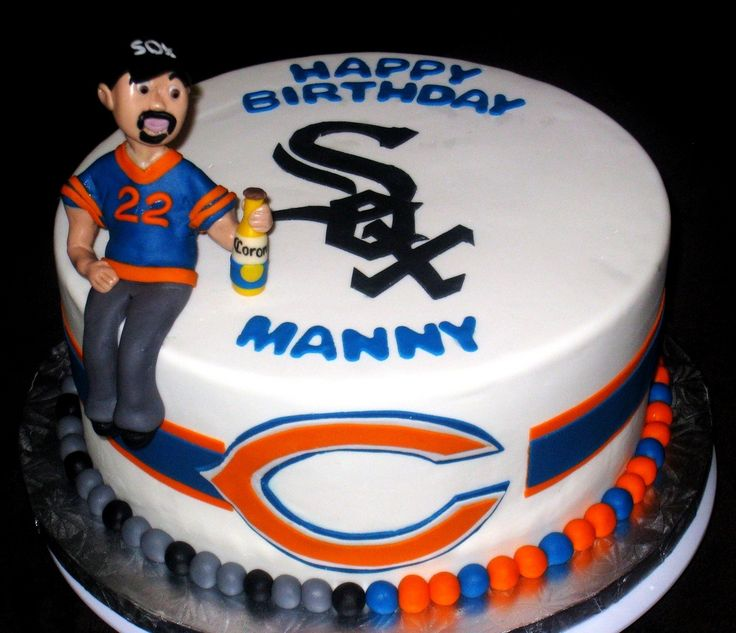 17 Best Ideas About Chicago Bears Cake On Pinterest
