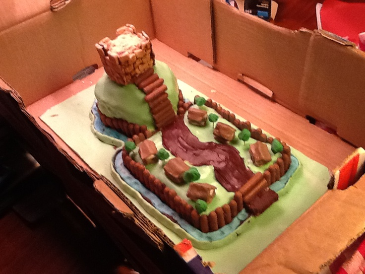 How To Make A Motte And Bailey Cake
