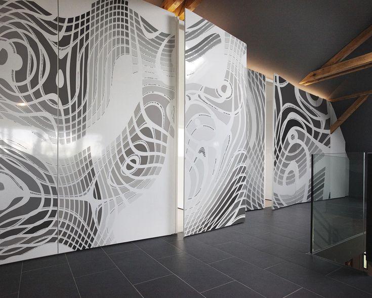 UniqueWall: Hyppa - customizable artwork wallpaper   Ch'Art Design