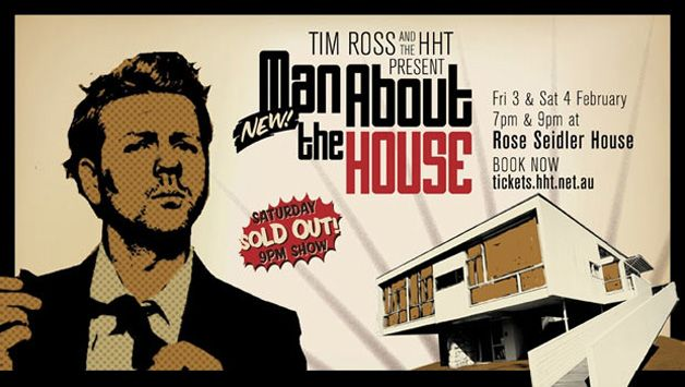 Almost makes me want to like stand-up, this poster and more importantly, the venue. Rose Seidler house at top of Australia to-do list.