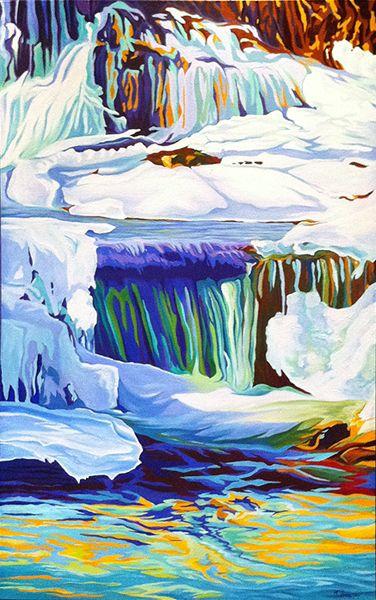 """""""Winter No.1"""" by Margarethe Vanderpas"""