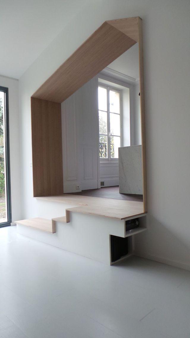 35 best salon images on Pinterest Home ideas, Mezzanine floor and - expert reception maison neuve