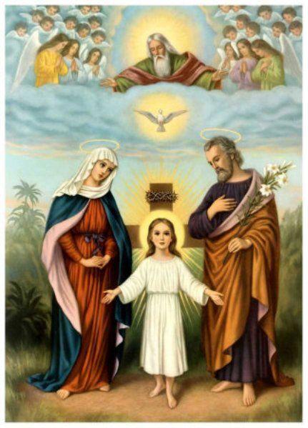 Un père, une mère qui élèvent leur fils !  La maternité de Marie ne s'est pas seulement limitée au processus biologique de la naissance, mais, comme pour toute autre mère, elle a également apporté une contribution essentielle à la croissance et au développement de son fils (…).