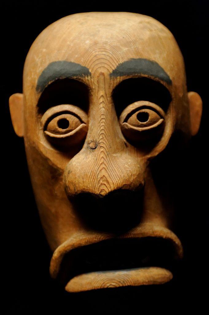 Masque Amérindien - Musée Quai Branly. Paris