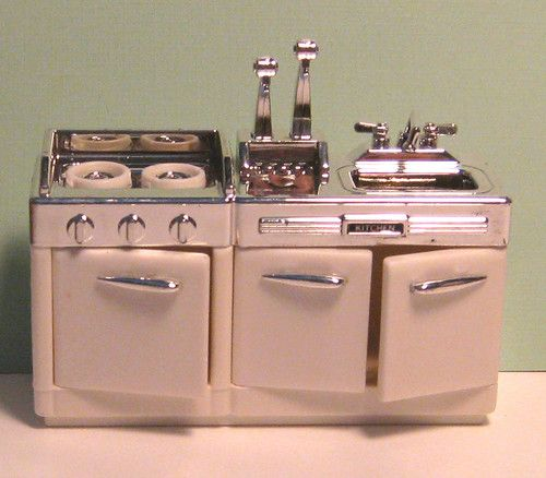 Tyco dixie 39 s diner kitchen set vintage little kitchen for Kitchen set vintage