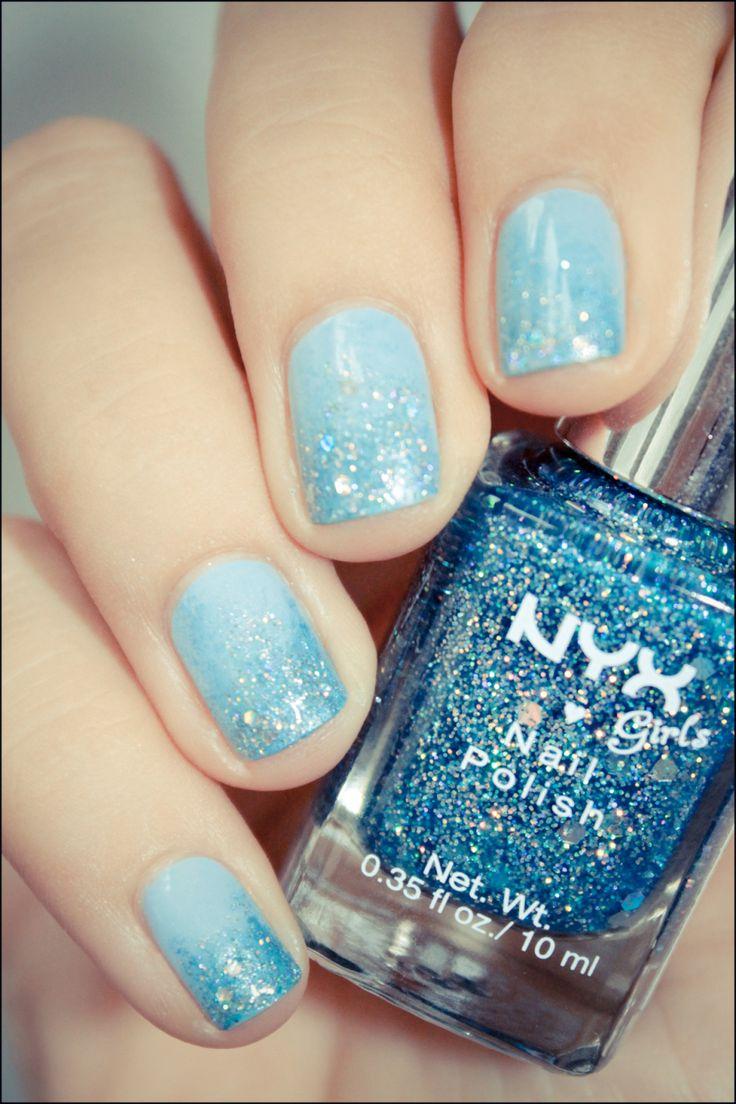 Best 25 Light Blue Nail Polish Ideas On Pinterest White Polish Amazing Nails And Tribal Nail