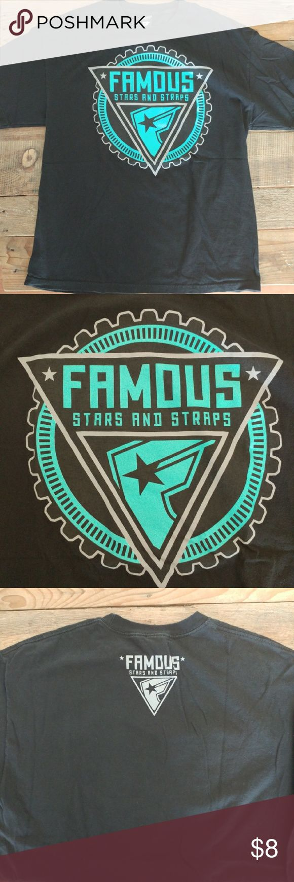 Famous Stars and Straps shirt size XL Men's shirt Famous Stars and Straps black size XL. No stains or holes. Famous Stars & Straps Shirts Tees - Short Sleeve