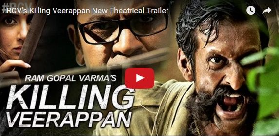 """Ram Gopal Varma is popular for his out of the ordinary approach of making films. He is back with his new project """"Killing Veerappan"""" and as thrilling as it sounds, the movie trailer is racy and engrossing."""