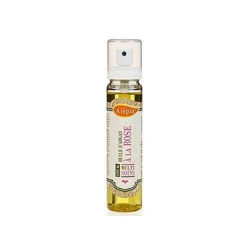 """Alepia - Olej arganowy jest jednym z najdroższych i najbardziej cenionych olejów na świecie. Jest produkowany z owoców arganii żelaznej i bardzo często nazywany """"płynnym złotem Maroka"""". Olej arganowy jest bogaty w witaminę E, niezbędną do regeneracji skóry, a także kwasy tłuszczowe neutralizujące zmarszczki, przebarwienia, zmniejszające blizny, a także normalizuje funkcjonowanie skóry, zmniejszając przetłuszczanie się lub suchość skóry."""