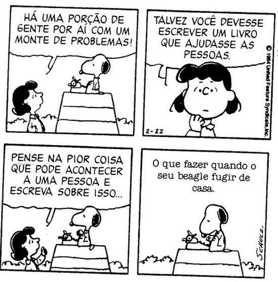 Isso sim é problema Snoopy