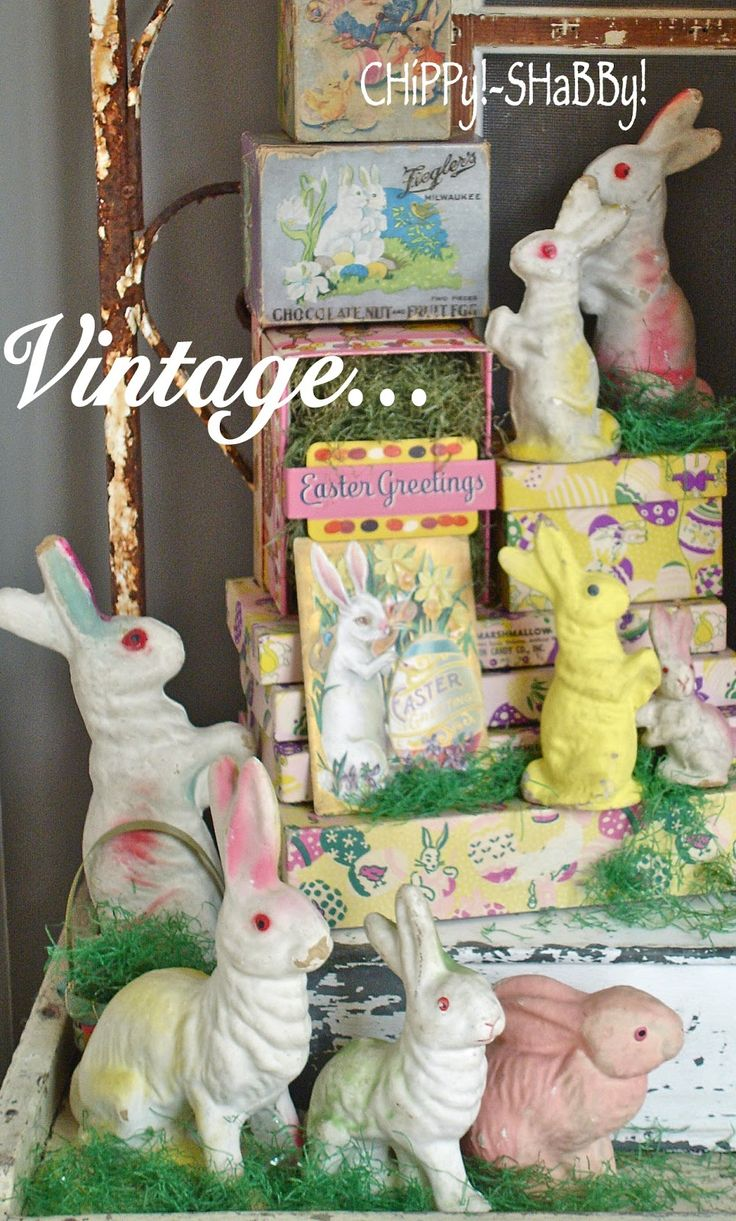 ChiPPy! - SHaBBy!: ViNtaGe Easter Bunnies *ChiPPy!-SHaBBy! S*T*Y*L ...