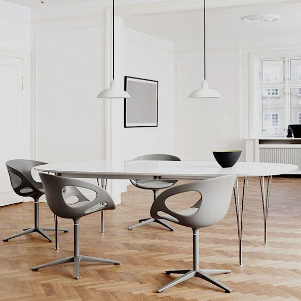 Fritz Super Elliptical Table By Piet Hein